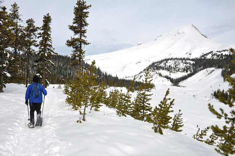 White River Snowshoeing