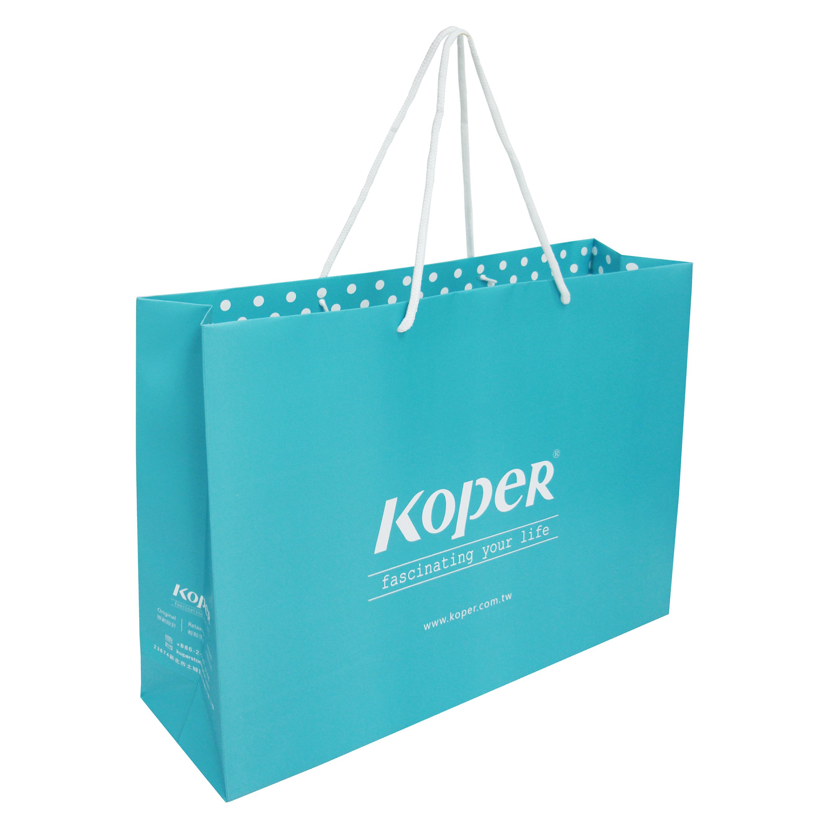 064864ae0a KOPER brand can-back Paper bags - Designer KOPER