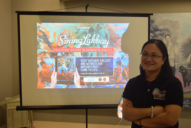 Art and Augmented Reality in Manila with Sining Saysay | Gateway Gallery
