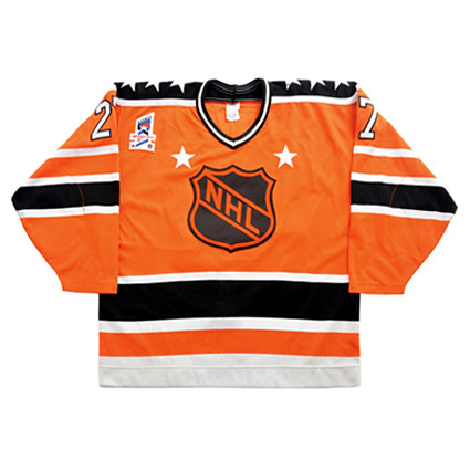 NHL All-Star 1987 Orange F jersey