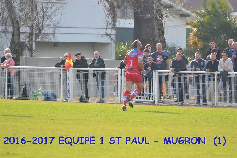 2016-2017 EQUIPE 1 ST PAUL-MUGRON