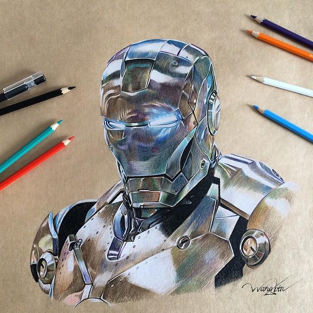 Iron Man by godot_23