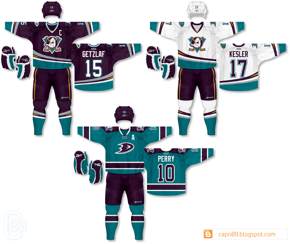 buy online c2635 4ee02 Anaheim Ducks - because I've been sitting on these ...