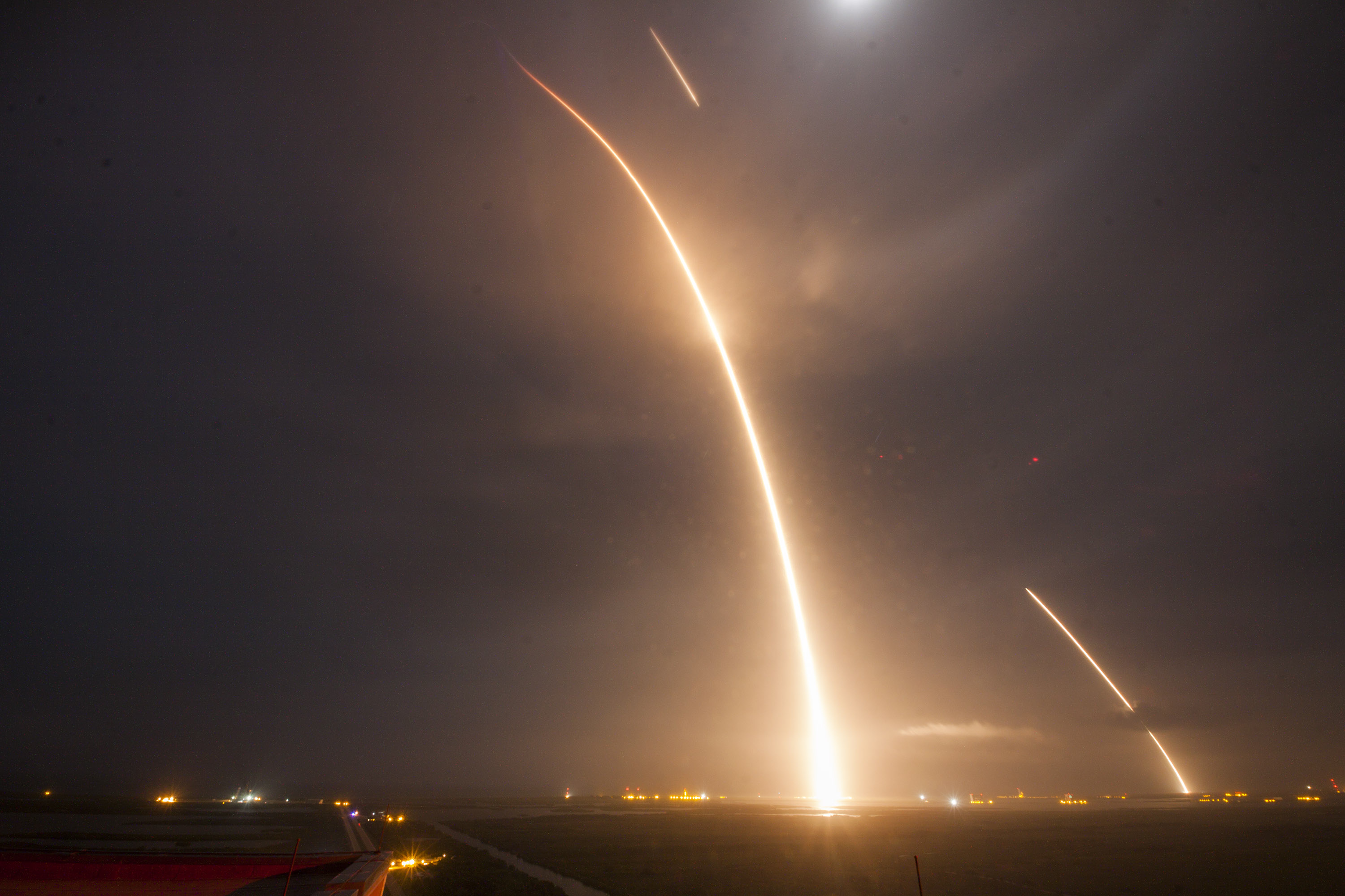 ORBCOMM-2 Launch, Re-entry, and Landing Burns, spacex