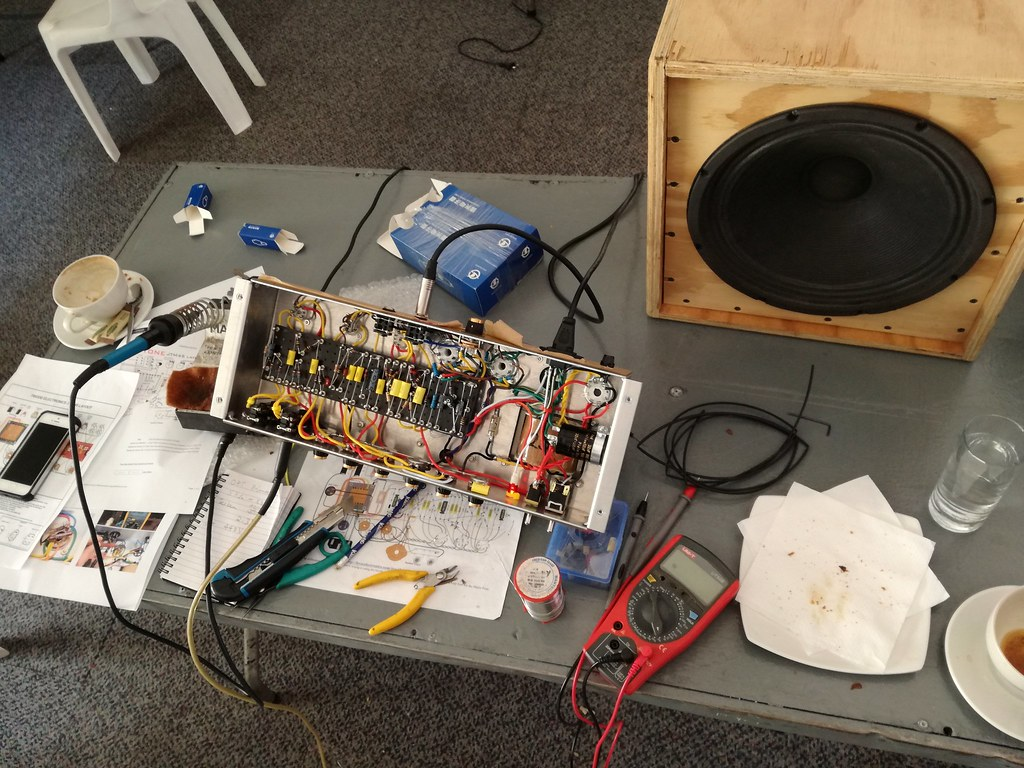 how to build a tube amplifier