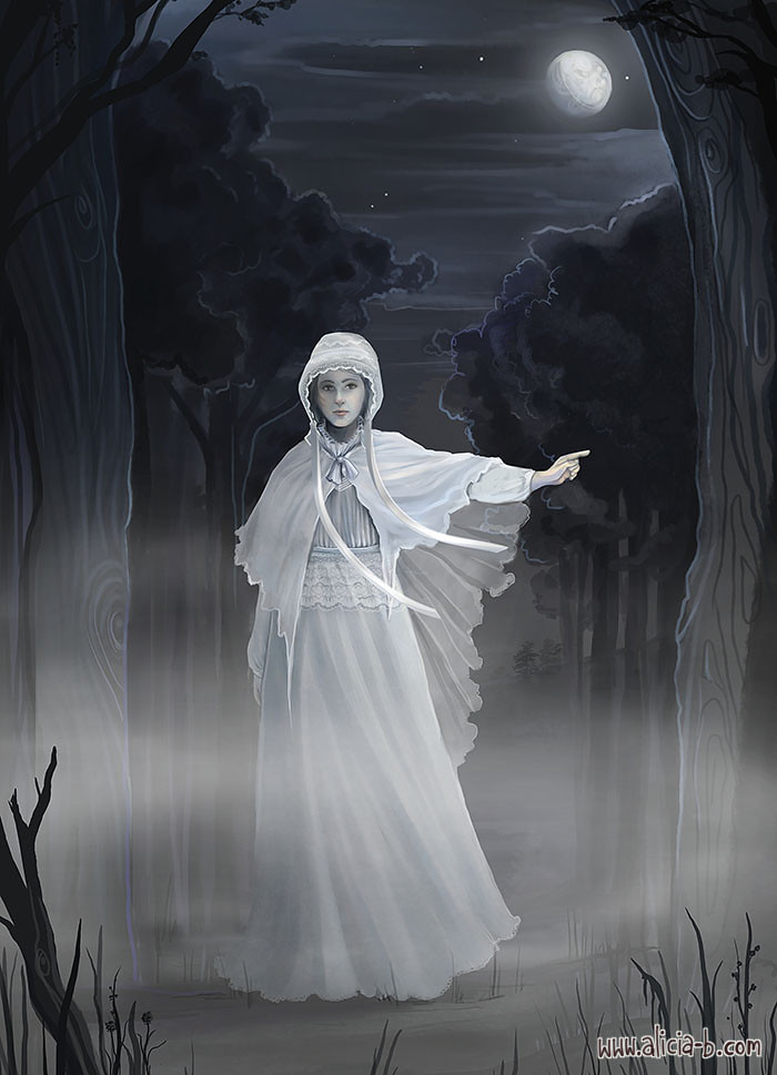The-Woman-in-White By Alicia B