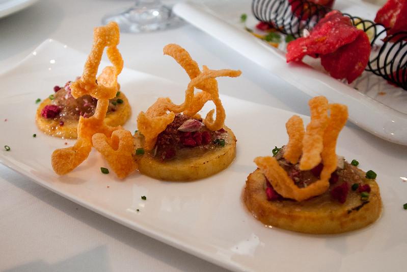 Apple and citrus, restaurante ARZAK