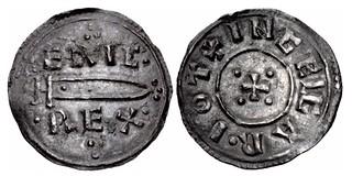 Eric Bloodaxe, King of York penny