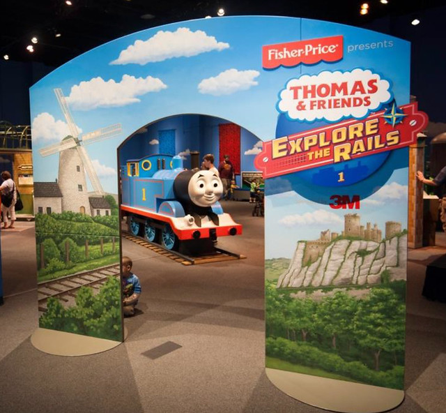 Thomas & Friends: Explore the Rails! Exhibit