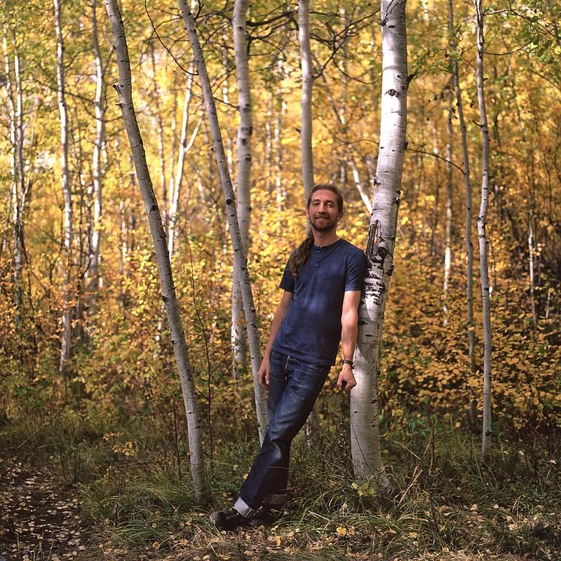 Self portrait, Colorado - Fall - 2016