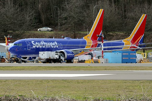 Boeing 737-8 MAX Southwest Airlines N8711Q