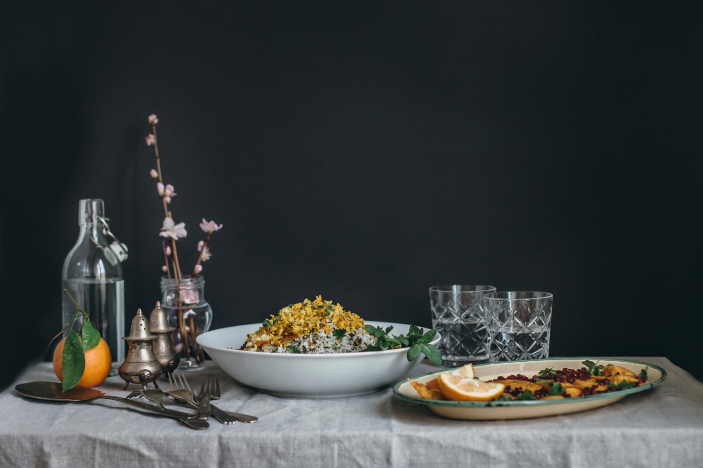 Persian Herby Pilaf and Fish - Sabzi Polo Mahi | Lab Noon by Saghar Setareh-2