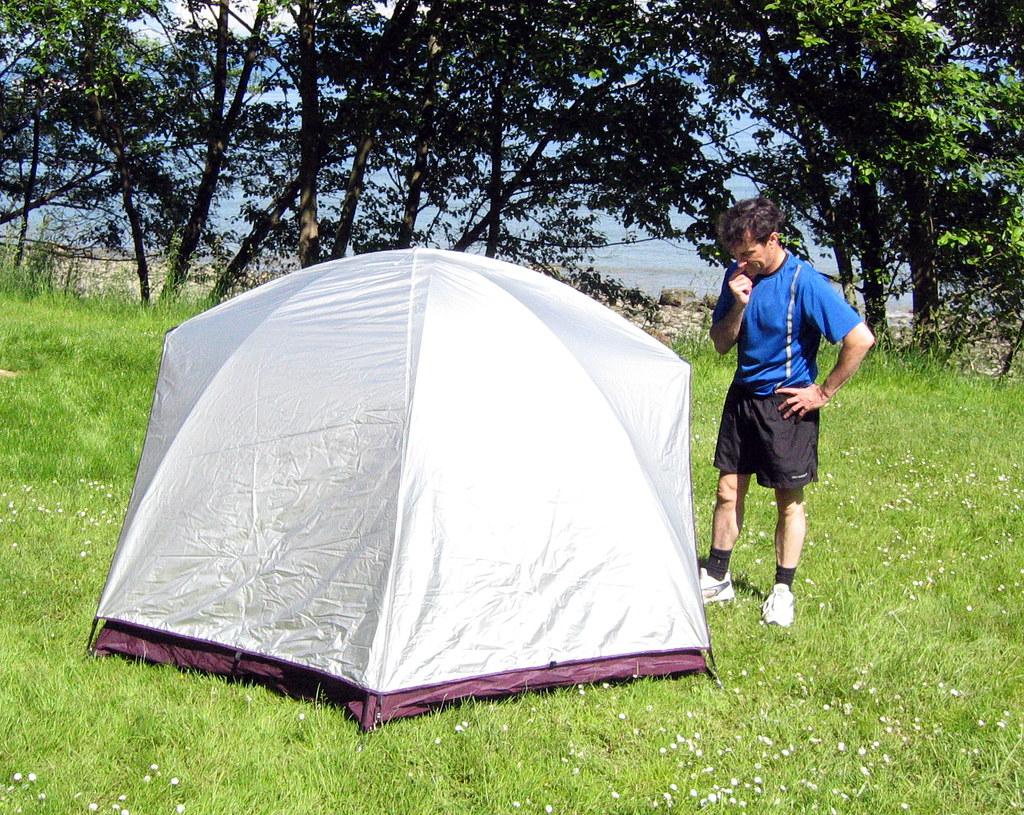 ... Outbound Quicksilver III tent | by Vida Morkunas (seawallrunner) & Outbound Quicksilver III tent | this tent is 46