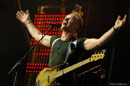 sting concert@telaviv | by halitll