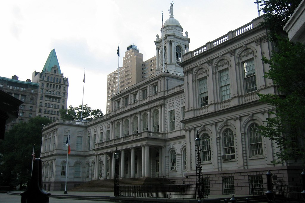 Nyc City Hall New York City Hall On Murray Street