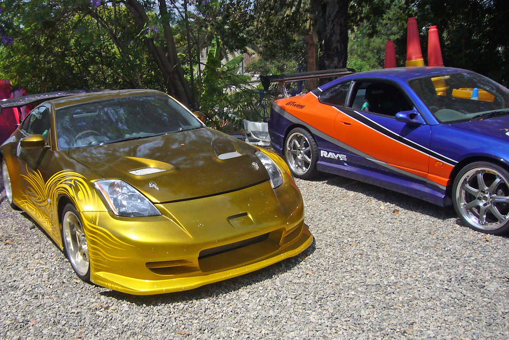 Fast And Furious 350z And Silvia S15 Type R Fast And