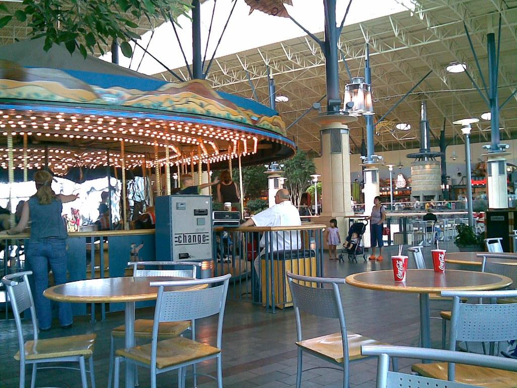 Rideau Centre Food Court Map