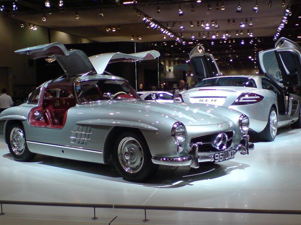 Mclaren Mercedes Slr Amp Mercedes Gullwing 300 Sl Tim