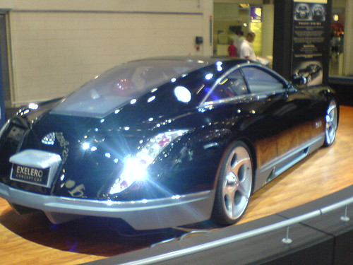 Mercedes Maybach Exelero Concept Car 5 At The 2006