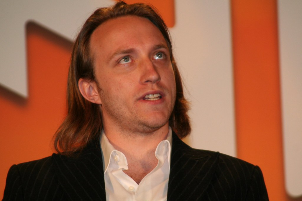 Chad Hurley | Chad Hurley, CEO of YouTube, on stage at Alway… | JD Lasica | Flickr