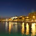 Cannes Bay at night