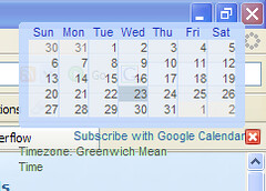 Google Calendar in the Sidewinder Viewer | by Philboooo
