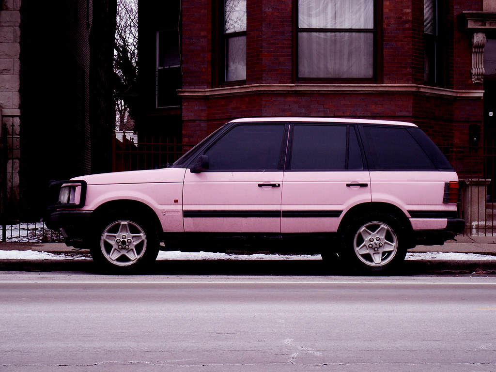 New Range Rover >> pink range rover | Señor Codo | Flickr