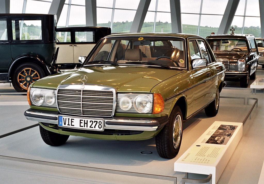 Visiting The Mercedes Benz Museum 1982 Mercedes Benz 240