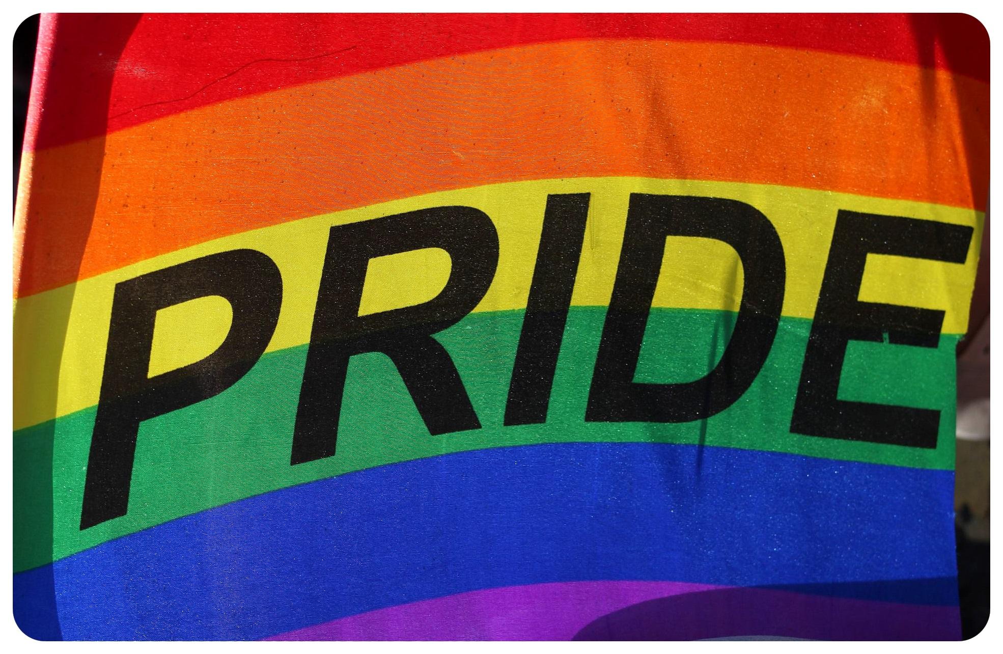 pride flag brighton