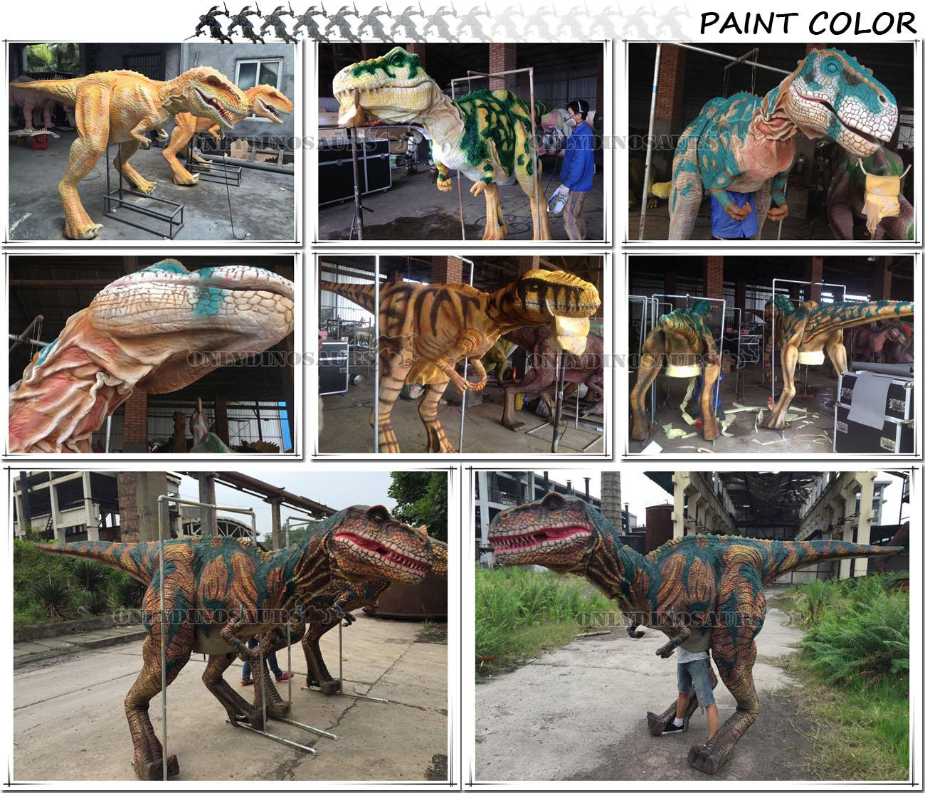 Dinosaur Costume-Paint Color
