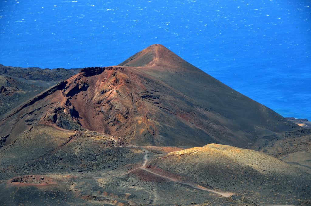 De vulkaan teneguia bij los canarios san antonio la palm - Antonio palma ...