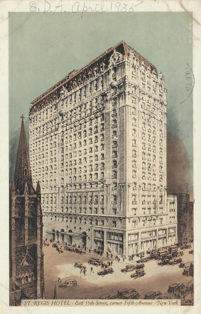 Hotel St. Regis - New York, New York