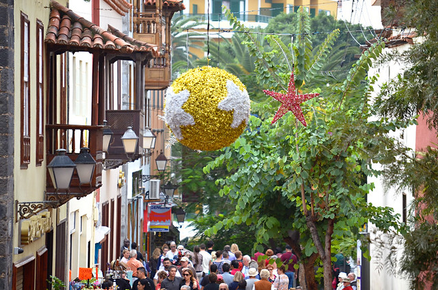 Street decorations, Puerto de la Cruz, Tenerife