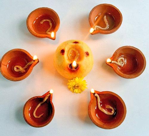 Karthigai deepam pooja