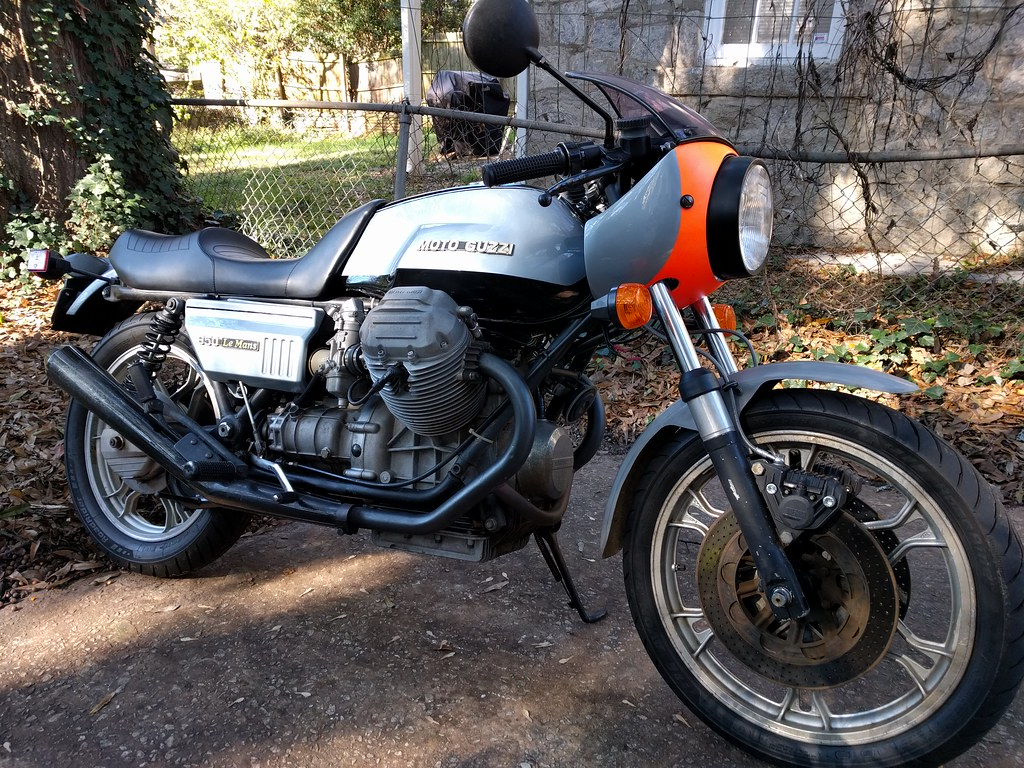 Moto Guzzi 850T v Honda G1000: Bought the Guzzi | Page 3