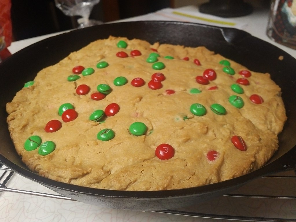 M&M Peanut Butter Cookie Bars
