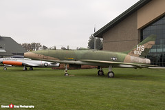 56-3832 HS - 243-108 - US Air Force - North American F-100F Super Sabre - Evergreen Air and Space Museum - McMinnville, Oregon - 131026 - Steven Gray - IMG_9130