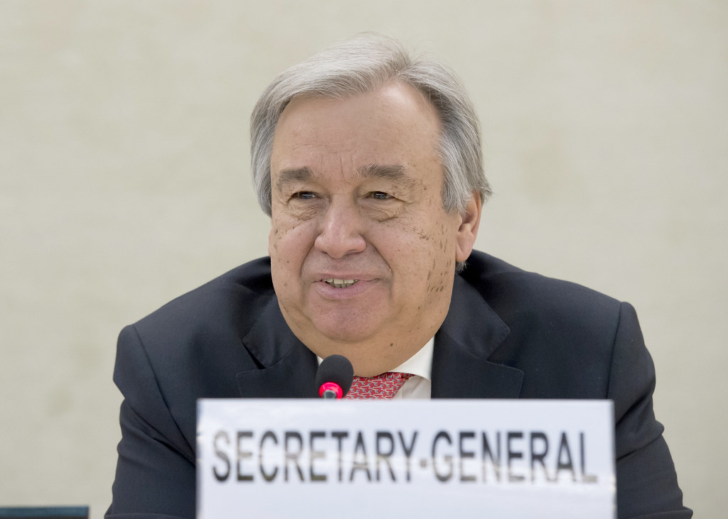 聯合國秘書長Antonio Guterres。圖片來源:UN Photo / Jean-Marc Ferré(CC BY-NC-ND 2.0)