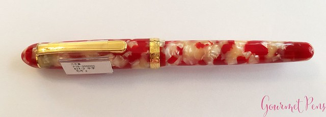 Review Platinum 3776 Celluloid Koi Fountain Pen @AndersonPens @CarolLuxury 3