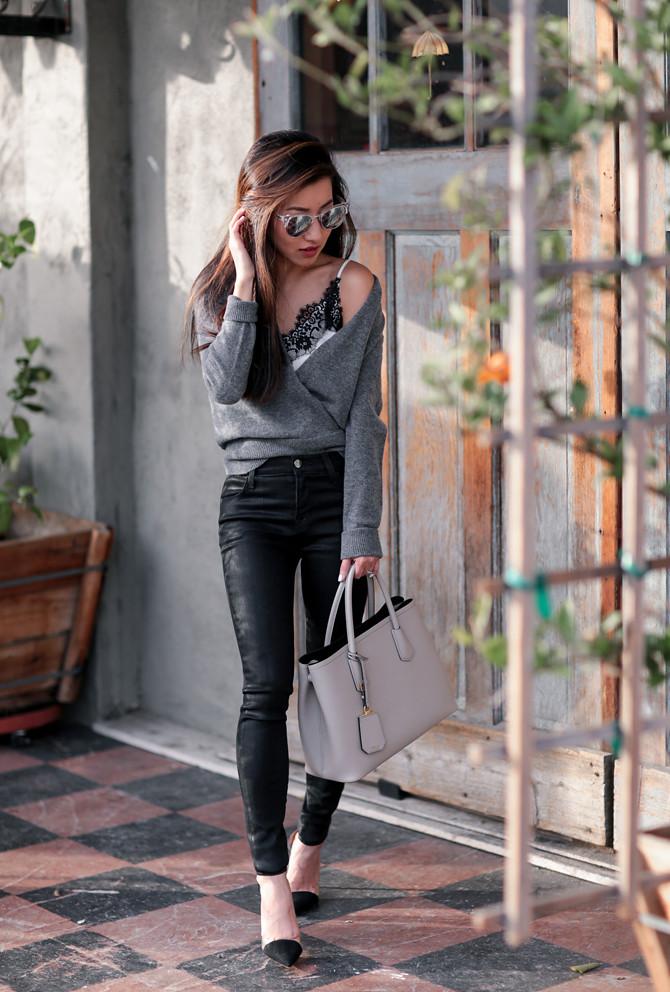 j brand black skinny jeans coated leather liquid legging v2