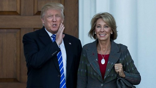 devos and trump