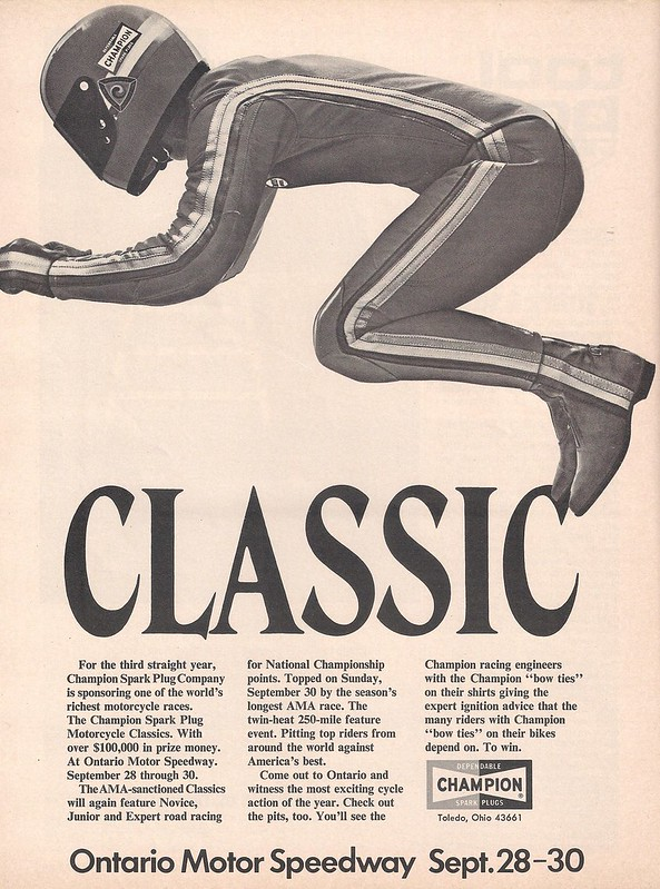 Champion spark plugs 1973