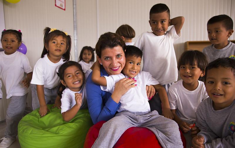 Inauguración Unidad Educativa Anthony Alvia Aguayo