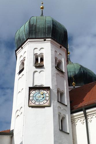 Seeon Bayern Kloster Klosterkirche St. Lambert Zwiebelturm Zwiebeltürmchen innen außen Fotos Brigitte Stolle Oktober 2015