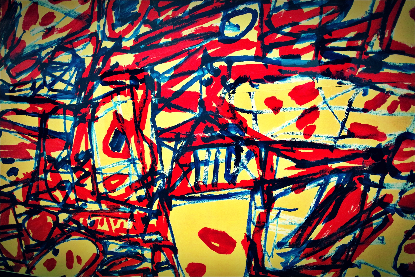 장 뒤뷔페(Jean Dubuffet) - Miro G42, 1983-'베라르도 현대미술관 Berardo Museum of Modern and Contemporary Art'