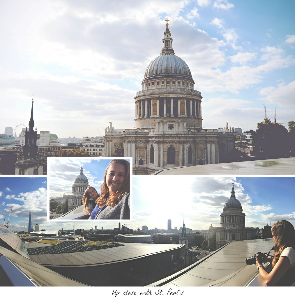 Rooftop view on St. Paul's Cathedral from the One New Change mall, London | via It's Travel O'Clock