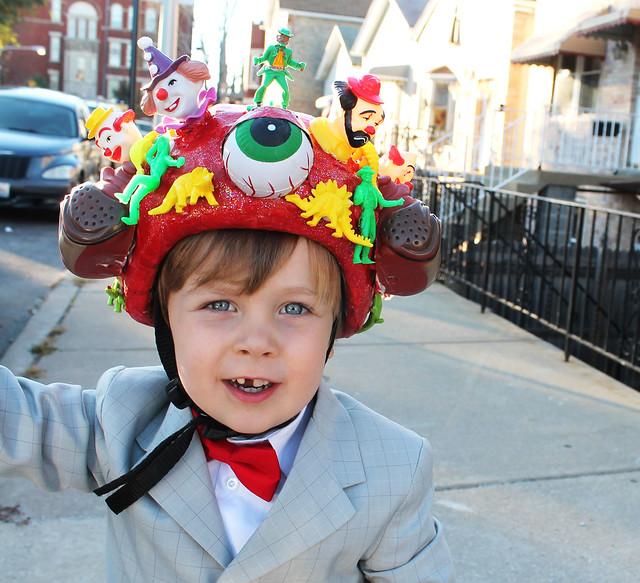 Henry's Pee Wee Herman costume