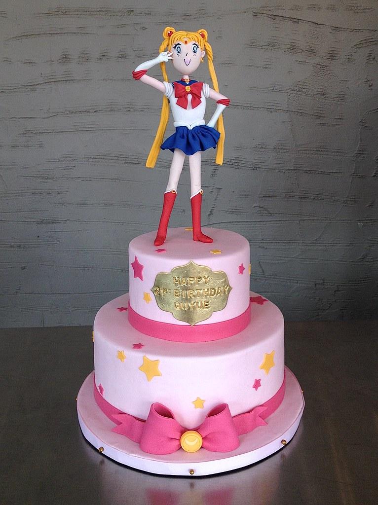 Sailor Moon Birthday Cake Sasa Flickr