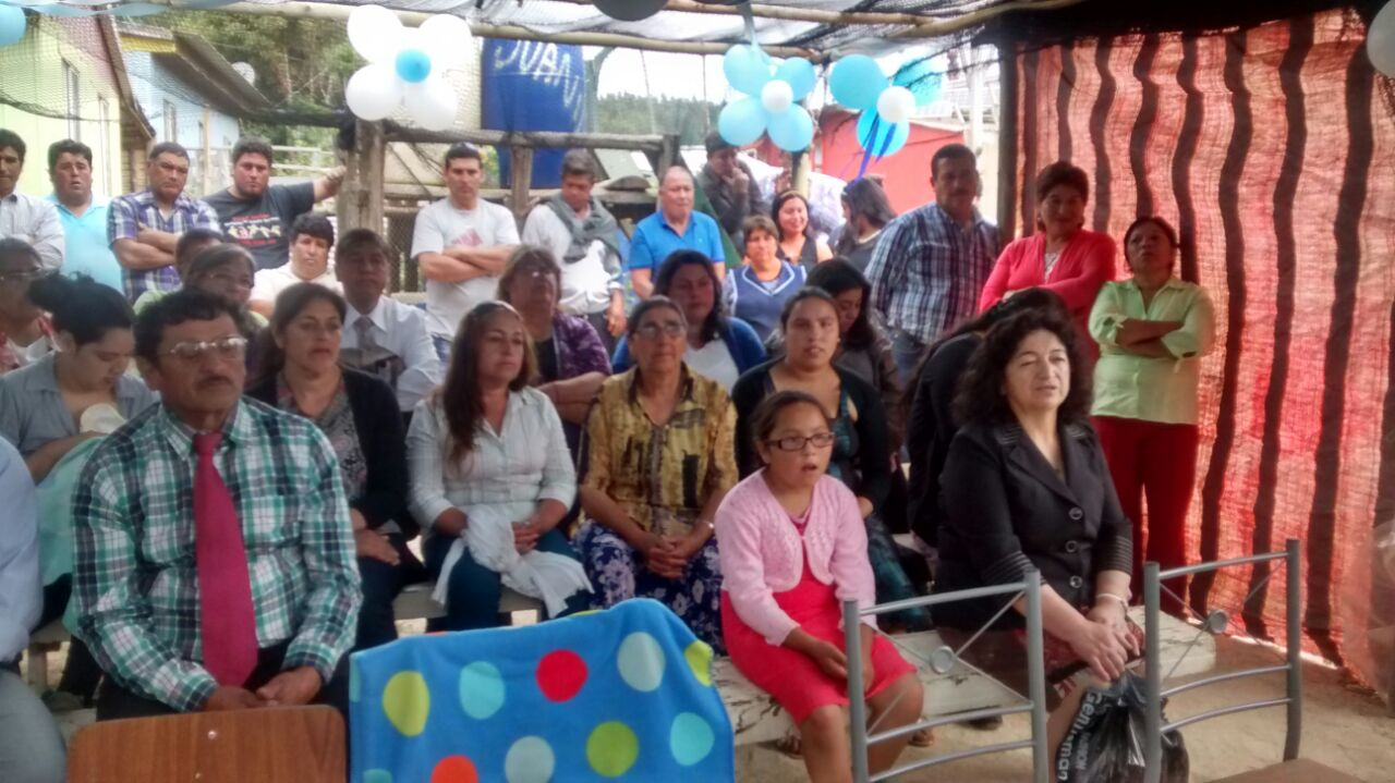 Lenga, 1° bautizo en Caleta Perone