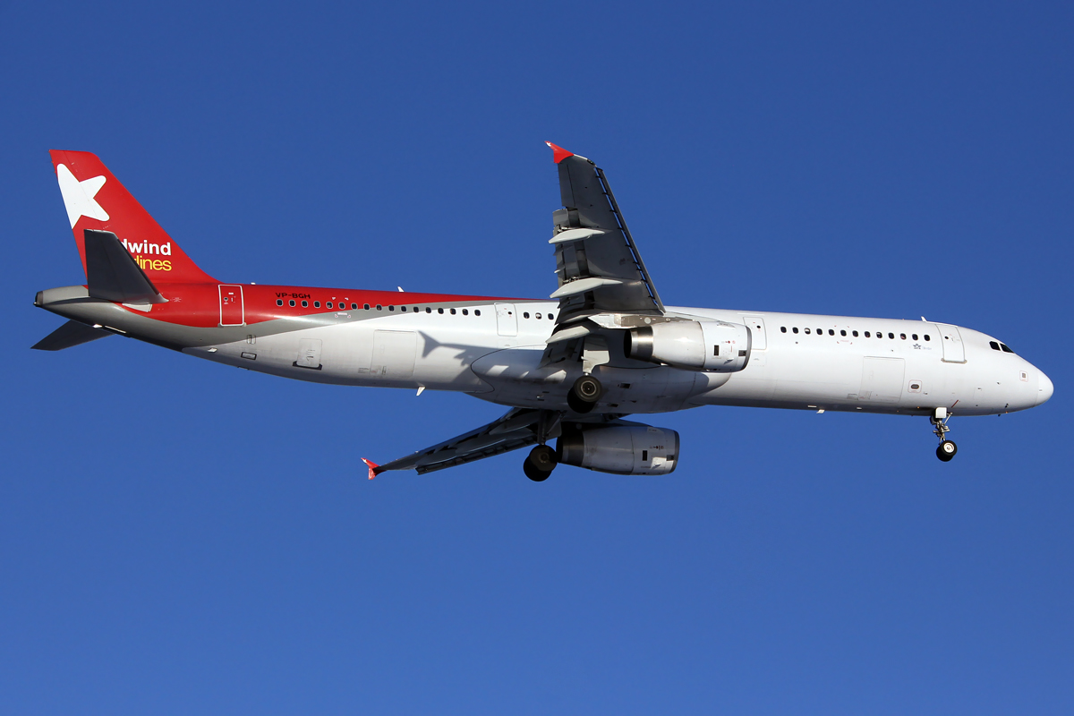 Nordwind Airlines Airbus A321 VP-BGH